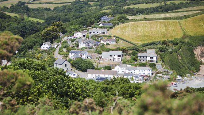 Porthallow Cornwall