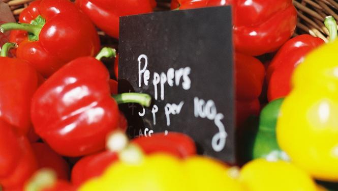 St Ives farmers market