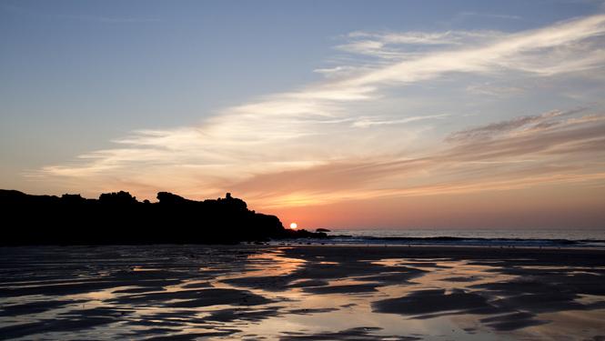 Porthmeor Sunset, St Ives