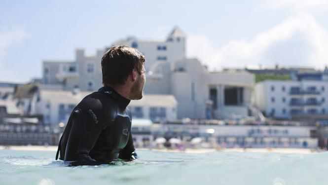 Porthmeor surf, St Ives