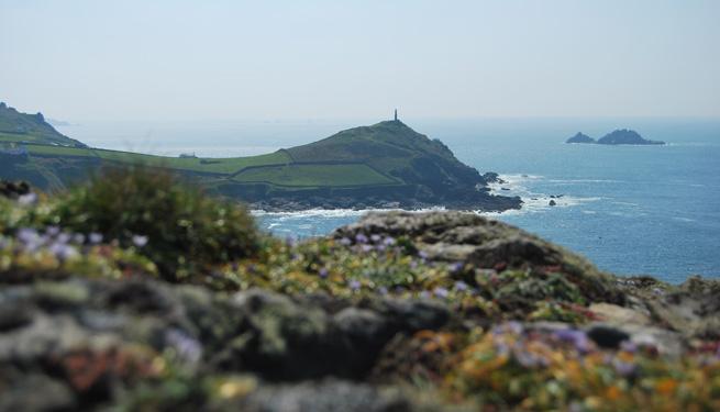 Find great spots for picnics near Cape Cornwall