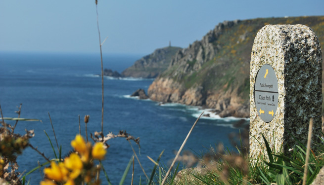 Footpath between Cape Cornwall and Sennen