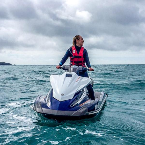 Jet Skiiing with Cornwall Waverunner Safaris