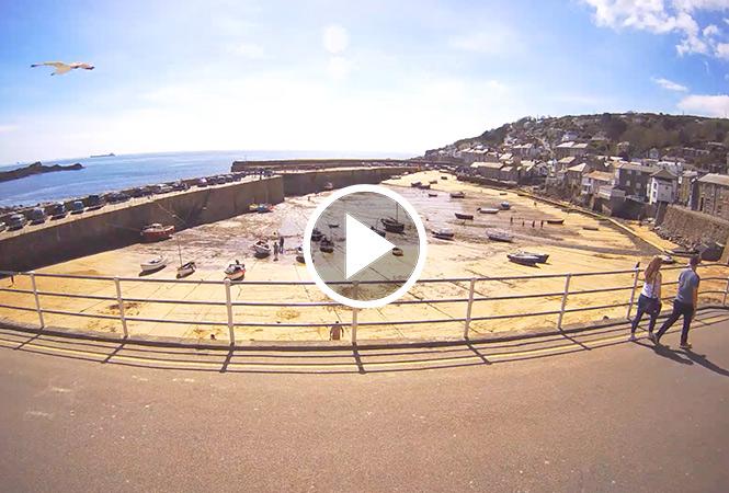 Mousehole webcam